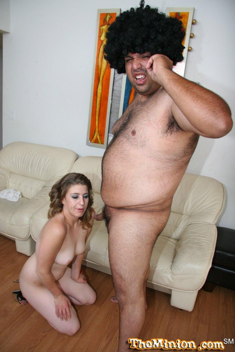 Никки занимается любовью с толстяком
